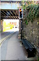 SO8005 : Norman's Bench, Queen's Road, Stonehouse by Jaggery