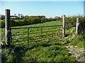 SE1723 : Gate on Footpath 74/5, Clifton by Humphrey Bolton