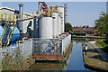 SO9591 : Canal and chemical works near Tipton, Sandwell by Roger  Kidd