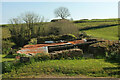 SX8553 : Ruin near Lapthorne Farm by Derek Harper