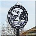 TF9143 : Wells-next-the-Sea town sign by Adrian S Pye