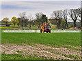 SD5611 : Crop Spraying, Talbot House Farm by David Dixon