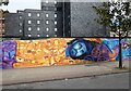 SJ8498 : The Doodle on Ducie Street by Gerald England