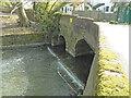 TM2179 : Two arch bridge at Syleham former watermill by Adrian S Pye