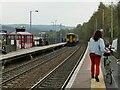 SE0125 : Mytholmroyd station looking east by Stephen Craven