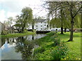 TM2783 : Mendham former watermill on the River Waveney by Adrian S Pye