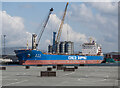 J3576 : The 'Jin Zhu Hai' at Belfast by Rossographer
