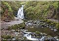 J3996 : Glenoe Waterfall by Rossographer