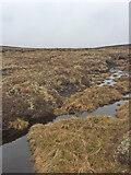 NH7618 : Peat Hags South of Càrn Dubh 'Ic an Deoir Trig Point by thejackrustles