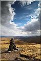 SD8597 : Beacon on Great Shunner Rake by Andy Waddington