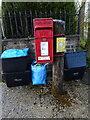 SE1063 : Elizabeth II postbox on the B6265, Keld Houses by JThomas