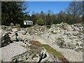 SE8675 : Rock Garden, Scampston Hall by Christine Johnstone
