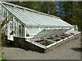 NS3478 : Greenhouse and cold frames by Richard Sutcliffe