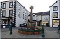 NY7708 : War Memorial, Market Street, Kirkby Stephen by JThomas