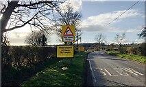 SP2775 : HS2 enabling works, Crackley-Burton Green, March 2021 (12) by Robin Stott