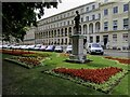 SO9422 : Flowerbeds by the Council Offices by Steve Daniels