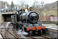 SJ2142 : 5322 at the end of the line, Llangollen Railway by Martin Tester