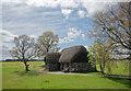 NH7445 : Leanach Cottage, Culodden Battlefield by Julian Paren