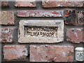 J5081 : Gilmour brick, Bangor by Rossographer