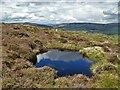 SK2180 : Moorland Pool on Offerton Moor by Neil Theasby