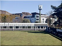 NT2672 : Parkside Bowling Club by Richard Webb