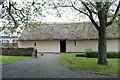 NS3318 : Entrance to Burns Cottage, Alloway by Billy McCrorie