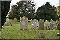 TQ5556 : Graves, Church of St Peter & St Paul by N Chadwick