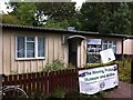 SP0981 : Pop up museum in prefab on Wake Green Road, Moseley by Alan Paxton