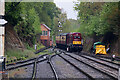 SO7975 : Severn Valley Railway - approaching Bewdley by Chris Allen