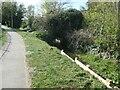 SE8741 : Small bridge over Weighton Beck by Christine Johnstone