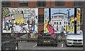 SJ8598 : Len Grant Artwork (9 & 10 of 12) by Gerald England