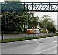 ST3091 : Two Volkswagen Westfalia camper vans, Malpas, Newport by Jaggery