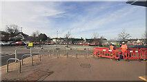 SO6024 : Car Park renovations, 2 by Jonathan Billinger