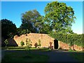 SE2634 : Gotts Park rose garden on a spring evening by Stephen Craven