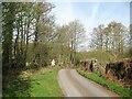 SD2786 : Long Lane near Elm Lane, Lowick by Adrian Taylor