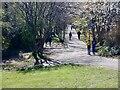 NT2576 : Path junction, Bonnington by Richard Webb