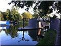 SP1870 : Footbridge, Kingswood Junction, Lapworth by Alan Paxton