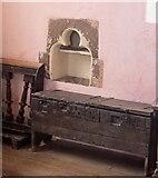 SO4522 : Garway - St Michael's Church - Piscina & Chest by Rob Farrow