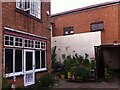 SP0784 : Rear view of J H Butcher's house at 506 Moseley Road and adjoining print works, Balsall Heath by Alan Paxton