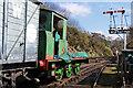 SO7975 : Severn Valley Railway - locomotive undergoing restoration by Chris Allen