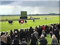 TL6262 : Crowds return to the Rowley Mile Racecourse at Newmarket by Richard Humphrey