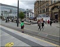 SJ8398 : Exchange Square by Gerald England