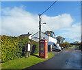 SX3685 : Phone Box & Parish Notices, Liftondown by Des Blenkinsopp