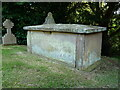 SJ7512 : The Hughes tomb in Sheriffhales by Richard Law
