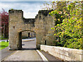 NU2406 : Bridge Head Tower, Warkworth Medieval Bridge by David Dixon