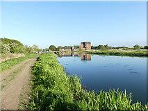 TG3129 : Ebridge Mill reflections by David Pashley