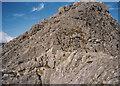 SH6659 : Approaching the rocky summit of Tryfan by Eric Jones