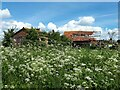 SP3804 : Derelict farm building, Calais Lane by Vieve Forward