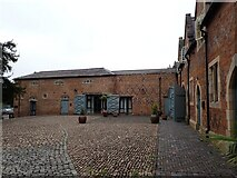 SP5077 : Brownsover Hall Hotel - Stable Block - northern range by Rob Farrow
