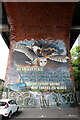 NZ2664 : 'An Ancient Place' - artwork under Byker Bridge by Andrew Curtis